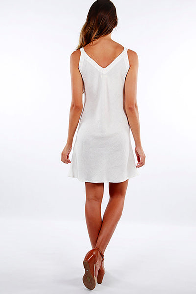 Dress Sunyata White Off/White Linen
