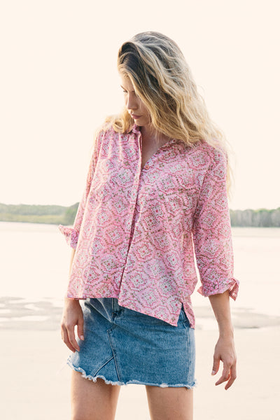 Top Uma Shirt Tangiers Rose