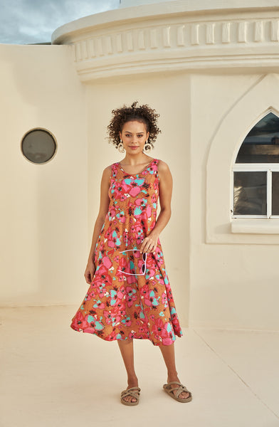 Dress Asmi Summer Orchid