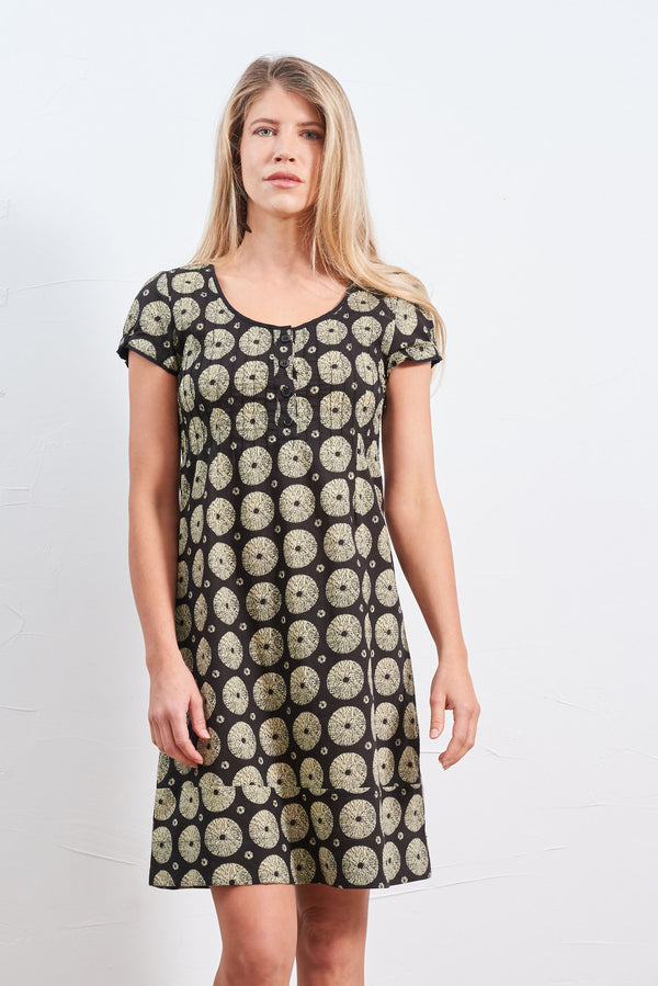 Dress Kala Black Daffodil