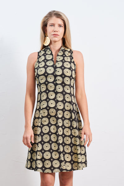 Dress Tatva Black Gold