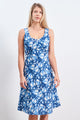 Dress Cuba Paradise Blue