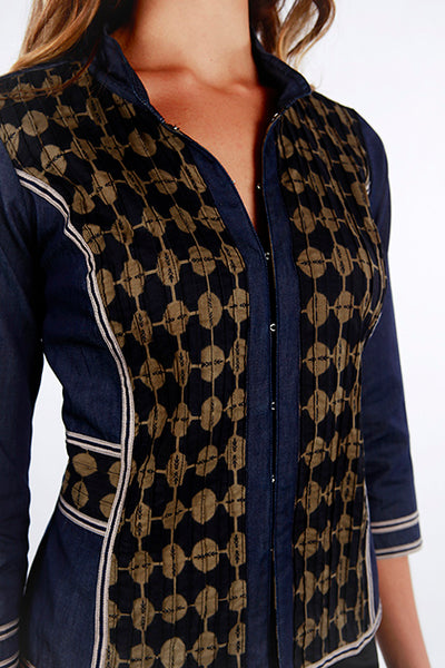 Jacket Anoushka Black Gold