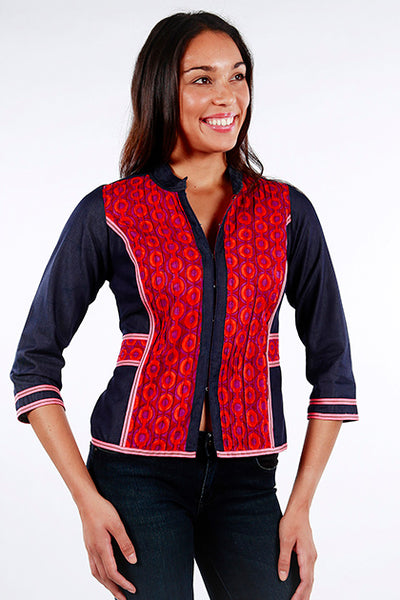 Jacket Anoushka Locomotion Red