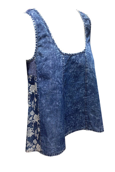 Top Sarisha Denim Wash