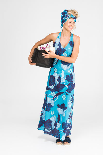 Dress Maxi Misha Midnight Bloom