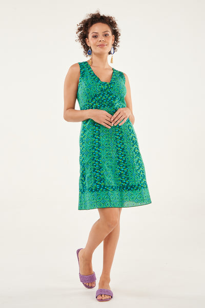 Dress Anji Green Opals