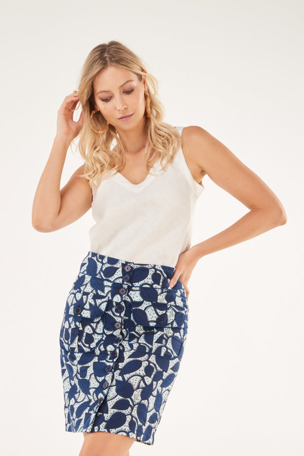 Skirt Bela Blue Mystic