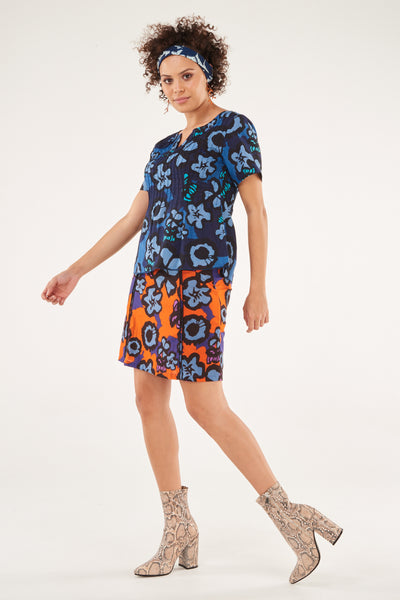 Skirt Sumana Provence - IN BLUE AS PER TOP