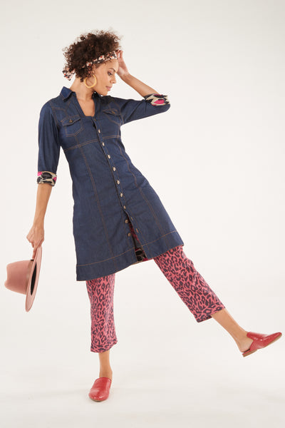 Dress Biba Lightweight Denim