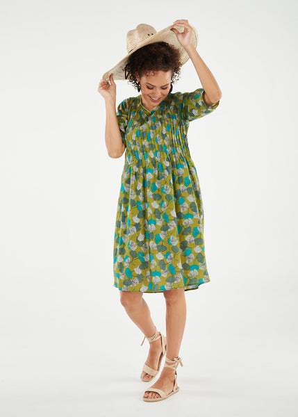 Dress Fleur Leaves
