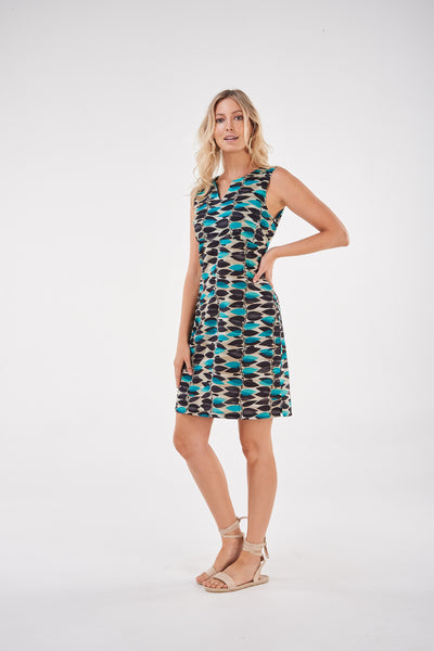 Dress Simplicity Turquoise Vine