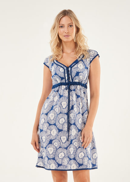 Dress Sarva Blue Organic