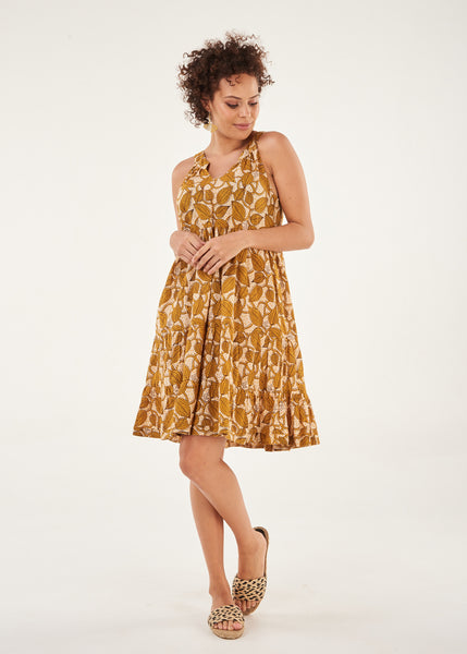Dress Aurora Short Length Gold Mystic