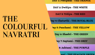 THE COLOURFUL NAVRATRI