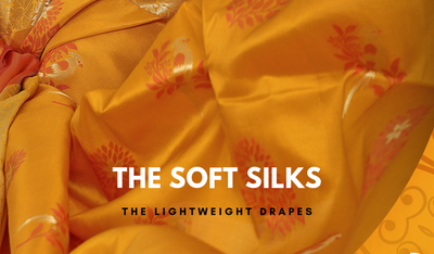 The Splendour Of A Soft Silk Saree