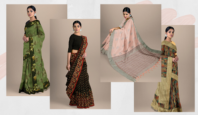THE DIFFERENT STYLES OF DRAPING A SAREE