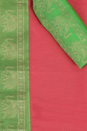 SIGNORAA PINK SILK COTTON SAREE-CCC01435 - PRODUCT VIEW
