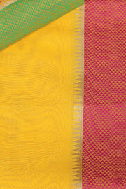 SIGNORAA YELLOW SILK COTTON SAREE-CCC01452-PRODUCT VIEW