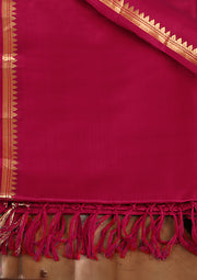 SIGNORAA MAROON KANCHIPURAM SOFT SILK SAREE-KSL02473 - Product View