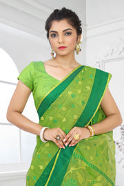 SIGNORAA GREEN KOTA SAREE-KTJ02945 - VIEW 2