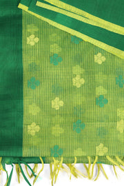 SIGNORAA GREEN KOTA SAREE-KTJ02945 - PRODUCT VIEW