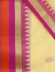 SIGNORAA CREAM SILK COTTON SAREE-CCC01428 - PRODUCT VIEW