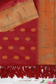 SIGNORAA RED PAITHANI SILK SAREE-PTN00117 - PRODUCT VIEW