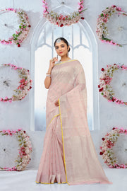 SIGNORAA LIGHT PINK KOTA SAREE-KTJ03344 - VIEW 1