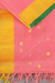 SIGNORAA PINK KOTA SAREE-KTJ02865 - PRODUCT VIEW