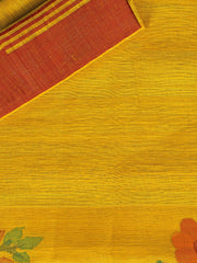 SIGNORAA MUSTARD JUTE TUSSAR SILK SAREE-PTS04308 - PRODUCT VIEW