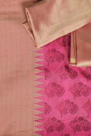 Signoraa Pink Printed Silk Saree-PTS04218