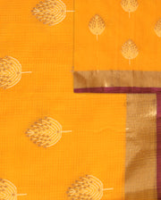 SIGNORAA ORANGE KOTA SAREE-KTJ03393 - PRODUCT VIEW