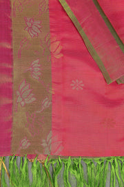 SIGNORAA PINK UPPADA SILK SAREE-OPD01518 A - Product View