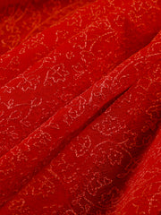 Signoraa Coral Chiffon Unstitched Fabric-PMT011590- View1