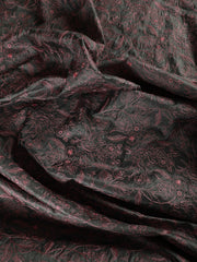 Signoraa Grey Tussar Silk Unstitched Fabric-PMT010857- View 2