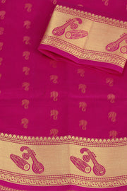 SIGNORAA RANI PINK SILK COTTON SAREE-CCC01431A-PRODUCT VIEW