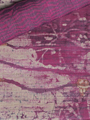 SIGNORAA MAGENTA PRINTED TUSSAR SILK SAREE-PTS04341 - PRODUCT VIEW