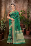 JUTE NET SAREE