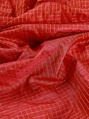 Signoraa Shot Pink Tussar Silk Unstitched Fabric-PMT011154- View 2