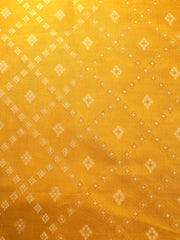 Signoraa Lemon Green Banarasi Pure Silk Unstitched Fabric-PMT011691D- View 3