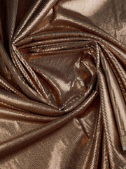 Signoraa Gold Organza Tissue Unstitched Fabric-PMT03094 - View 2