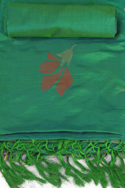 SIGNORAA SEA GREEN UPPADA SILK SAREE-OPD01518 B-Product View