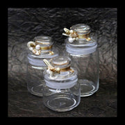 Decorative Airtight Jars 750 ml - Set of 2