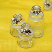 Decorative Airtight Jars 750 ml - Set of 2 - View1