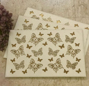 Leatherette Laser Cut Table Mats - Set of 6 mats -View 7