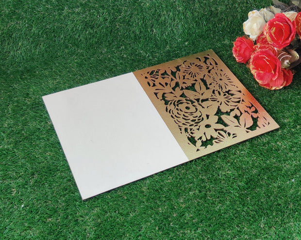Leatherette Laser Cut Table Mats - Set of 6 mats -View 10