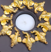 Exotic Wooden Tealights (Design -1) -V iew 1