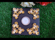 Exotic Wooden Tealights (Design - 4)