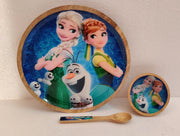 Kids Platter Set in Mango Wood -View 2